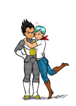 short angry couple by Dinklebert
