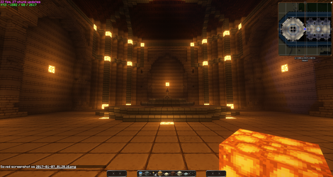 Temple of time updated with shaders part 4 by MasaruIsamu