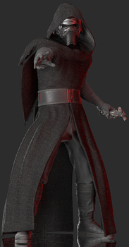 Kylo Ren by Yare-Yare-Dong