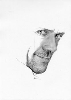 Hugh Laurie - WIP1 by Cataclysm-X