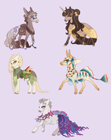 Chibi Adopts | Breim Faction by queerly