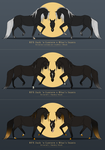 Foal design for Bluelakeranch by Catiza