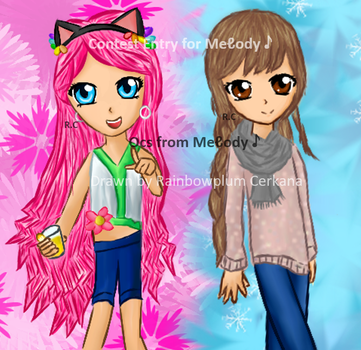 Drawing Contest Entry for Melody by Rainbowplum-Cerkana
