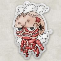 Attack On Titan (Chibi Titan) by marblegallery7