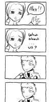 WHAT ABOUT US, ALEX? by REJECTEDhaha