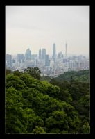 Guangzhou from Bauyun by WiDoWm4k3r