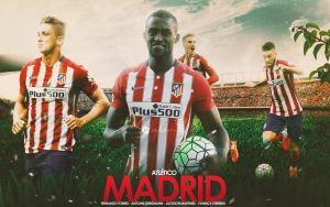 Atletico Madrid by WDANDM
