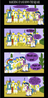 Marching up and down the Square by Vector-Brony