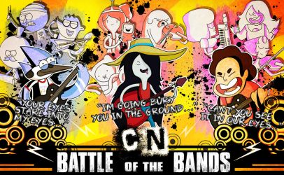 Cartoon Network- Battle of the Bands by xeternalflamebryx