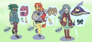 Oni Schoolgirl Adopts! -CLOSED- by mossbot