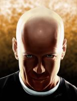 Bruce Willis color version by r3cycled