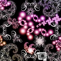 Deco Fractal Brushes 1 of 7 by LightArtist