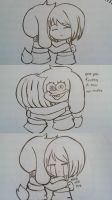 Are you feeling it now Frisk by SlyMarie