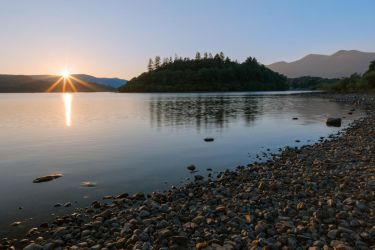 Derwent Water Sunset by somadjinn
