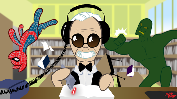 Stan Lee Pony by WillDrawForFood1