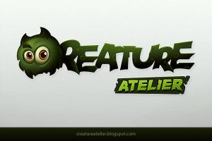Creature Atelier Logo by ScriptKiddy