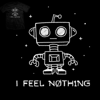 Robot Apathy - tee by InfinityWave