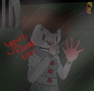 .:youll float too:. by AphTheFoxDrawer1