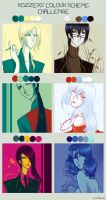 AS. Colour Scheme Challenge. by AShiori-chan