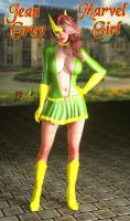 Jean Grey, Marvel Girl by BDAndrogyne