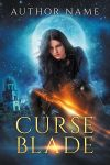 Curse Blade - premade book cover - SOLD by LHarper