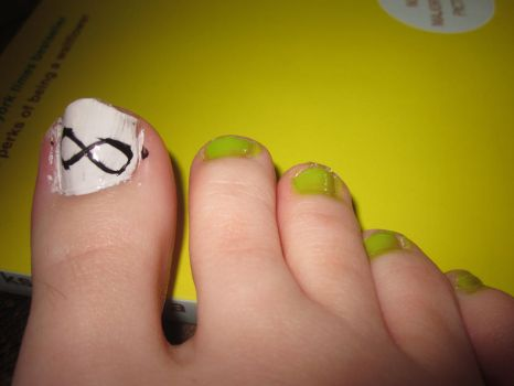 Perks of Being a Wallflower Nail Art by tay-bear