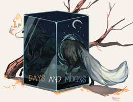 Days and Moons by VarianceMatrix
