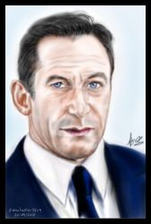 Jason Isaacs Portrait by winchesterSK