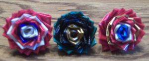 Avengers Duct Tape Rings by LishaChan