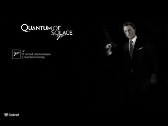 Quantum of Solace logon by tfcian