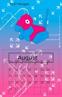 Aug Porygon by BrittanysDesigns