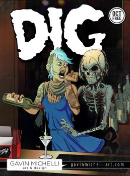 DIG Magazine October Cover by GavinMichelli