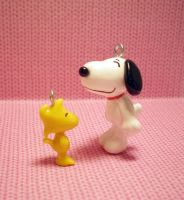 Snoopy and Woodstock by OhThePlushabilities