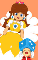 Princess Daisy by peachco