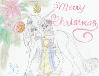 Merry Christmas 2016 by Kimmythedragoness