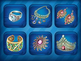 Collection jewelry by GruberJan