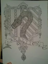 Slytherin Crest Coloring Page By DoktorJK On DeviantArt