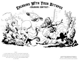 Diving coloring contest by BrianKesinger