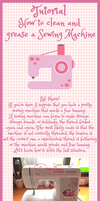 Tutorial: How to clean and grease a sewing machine by Ishtar-Creations