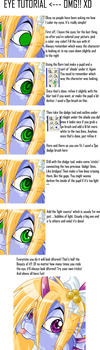 Shinny eye tutorial by Daffupanda