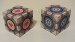 Portal Cubes by ElyGraphic