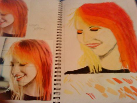Hayley Williams II by rolymoly950