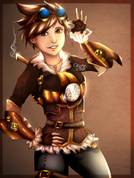 Steampunk Tracer by Meltis