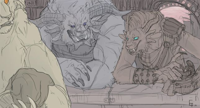 CHARR BEER by SilverMender