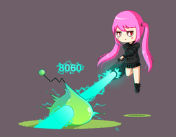 Maplestory 2 character drawing by JoTheWeirdo