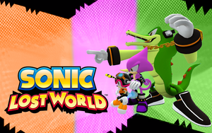 Team Chaotix in Sonic Lost world by Nibroc-Rock