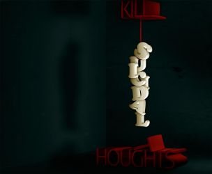 Kill Suicidal Thoughts by k-raki