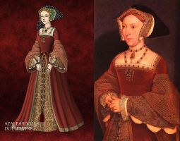 Queen Jane Seymour by LadyAquanine73551