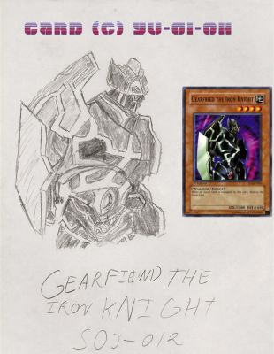 GEARFIEND THE IRON KNIGHT by impostergir007