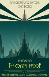 Bioshock: Welcome to the Crystal Empire Poster by dan232323